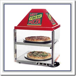 Pizza Warmer Display Case